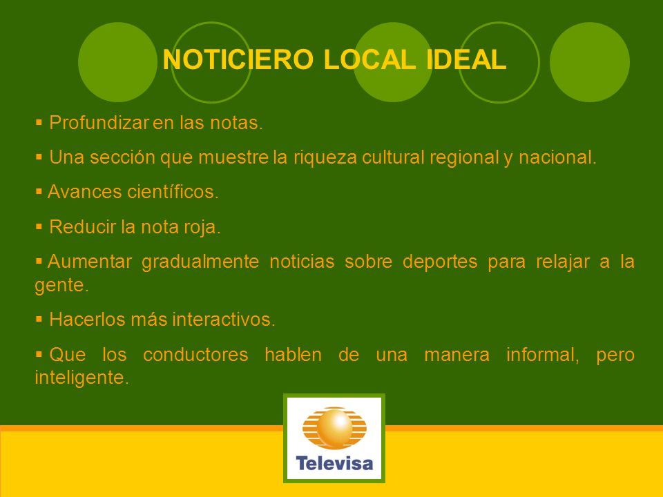 NOTICIERO LOCAL IDEAL Profundizar en las notas.