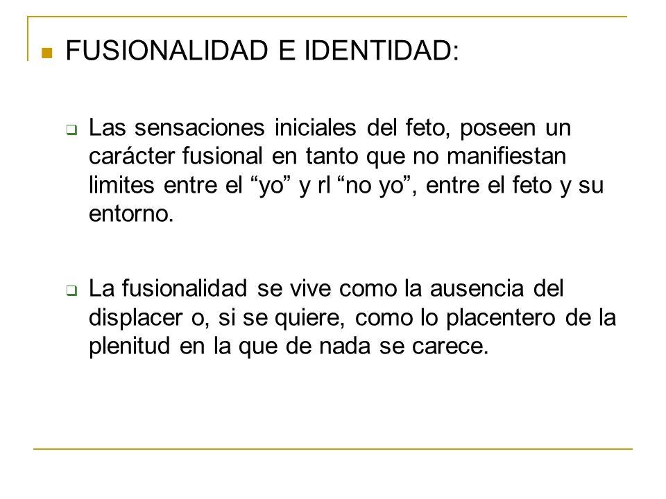 FUSIONALIDAD E IDENTIDAD: