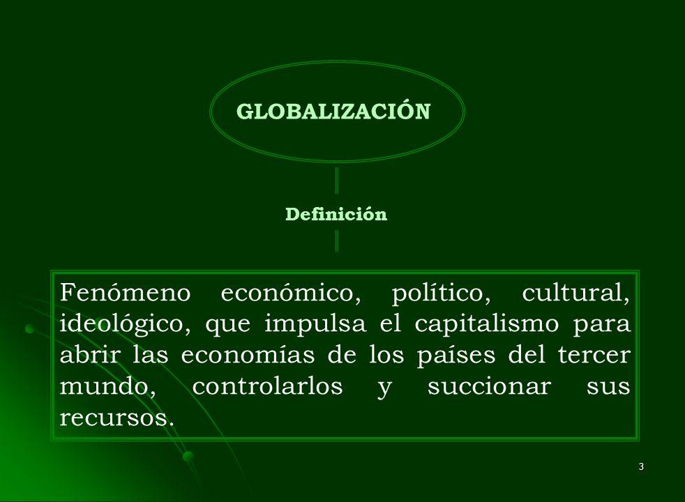 GLOBALIZACIÓN Definición.