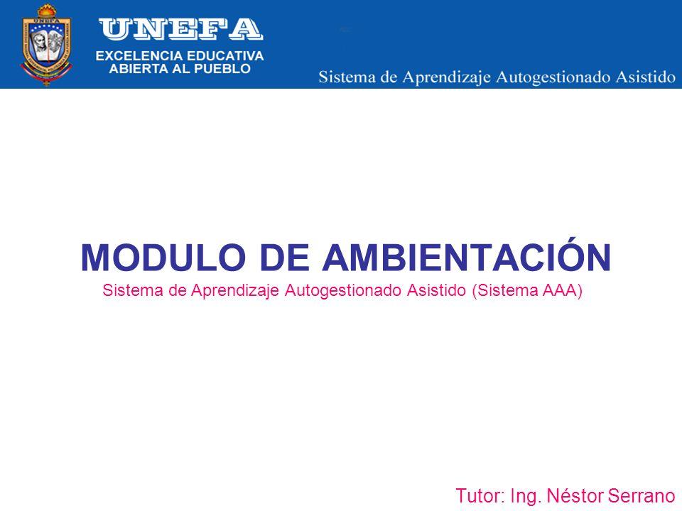 MODULO DE AMBIENTACIÓN