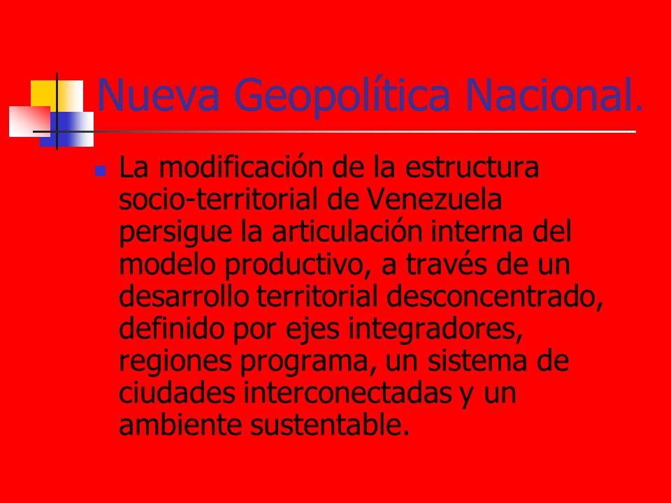 Nueva Geopolítica Nacional.