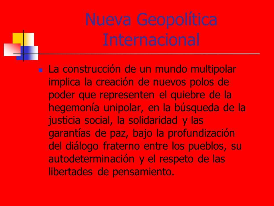 Nueva Geopolítica Internacional