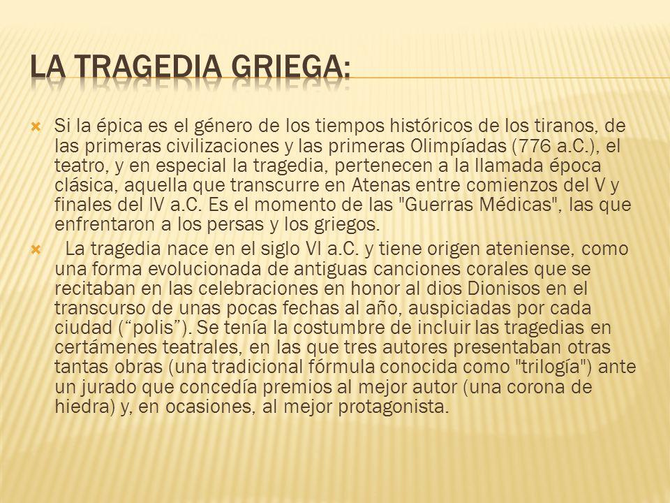 La tragedia griega: