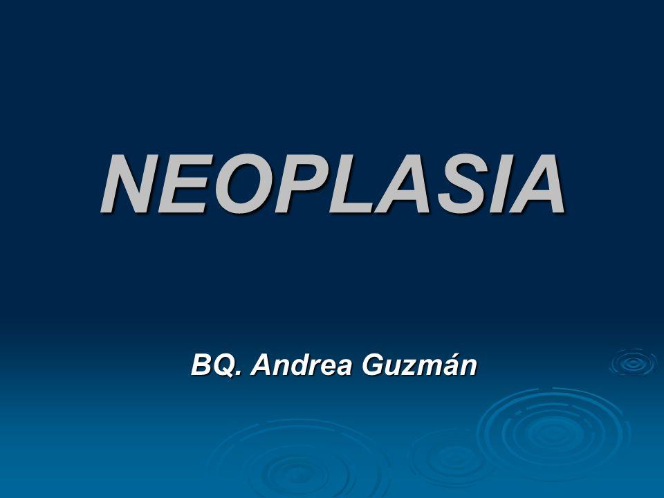NEOPLASIA BQ. Andrea Guzmán