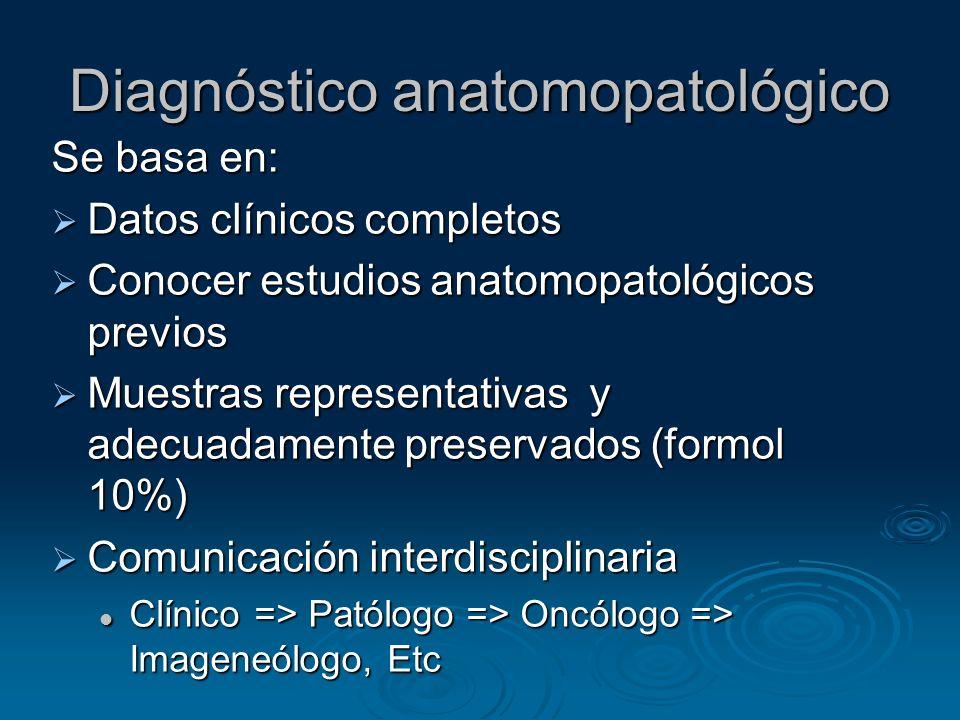 Diagnóstico anatomopatológico