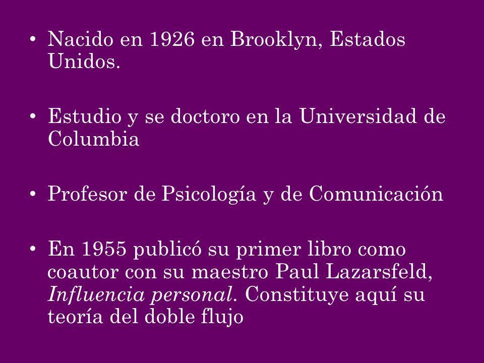 Nacido en 1926 en Brooklyn, Estados Unidos.