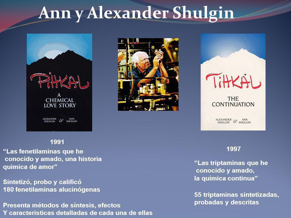 Ann y Alexander Shulgin
