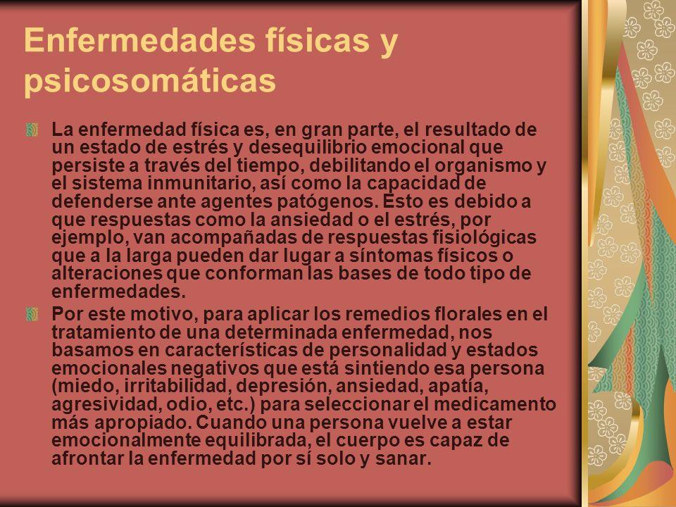Enfermedades físicas y psicosomáticas