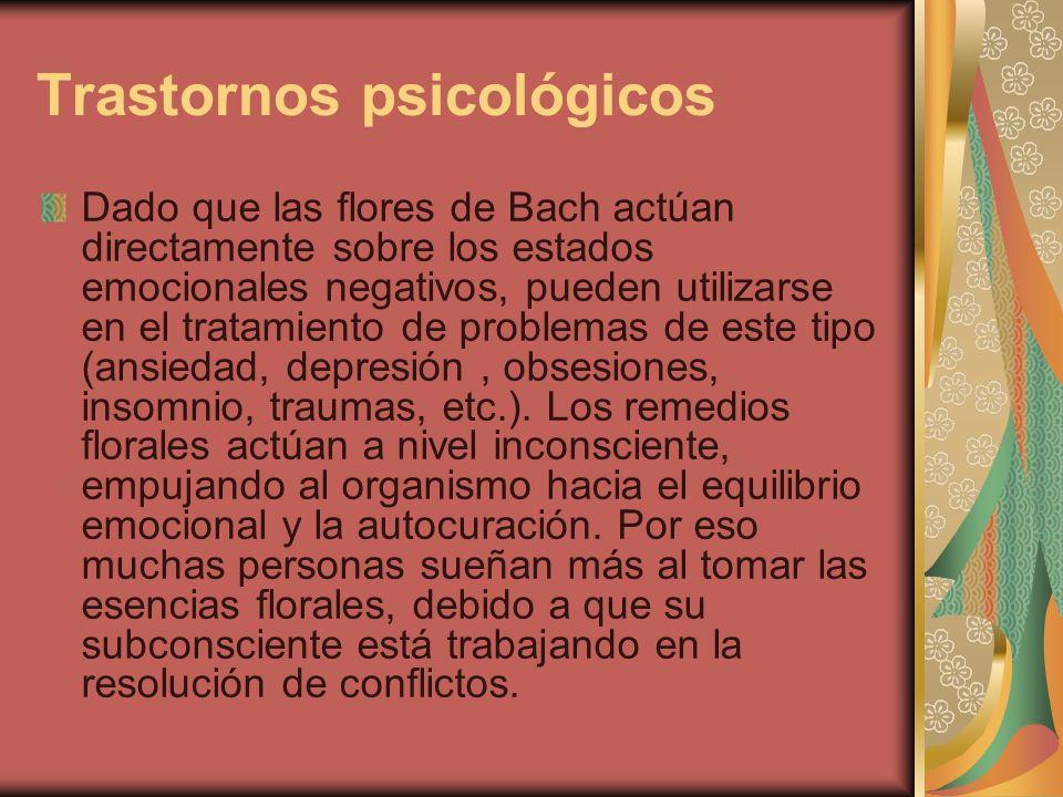 Trastornos psicológicos