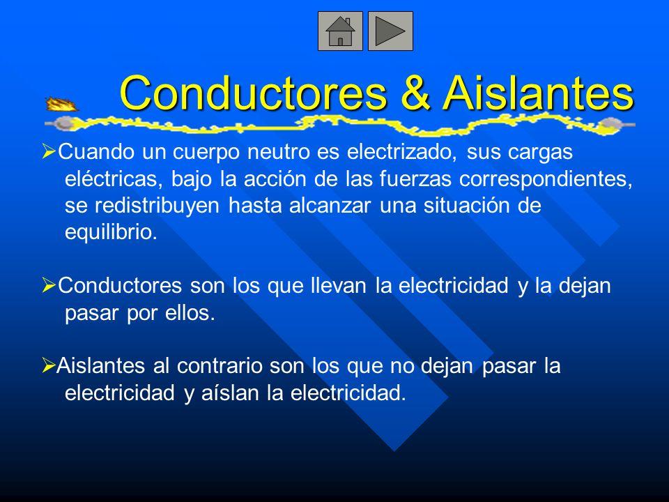 Conductores & Aislantes