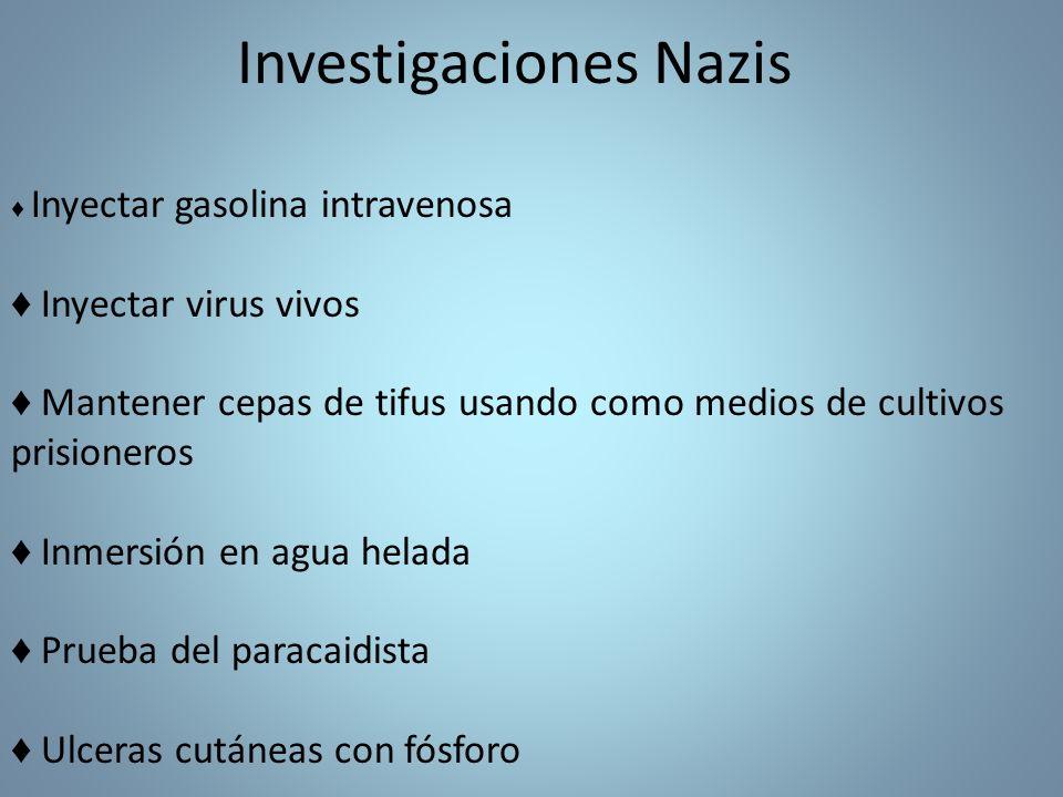 Investigaciones Nazis
