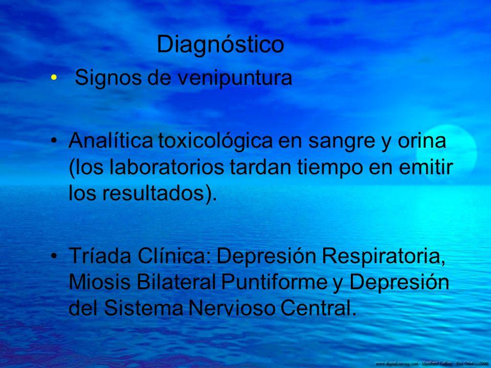 Diagnóstico Signos de venipuntura