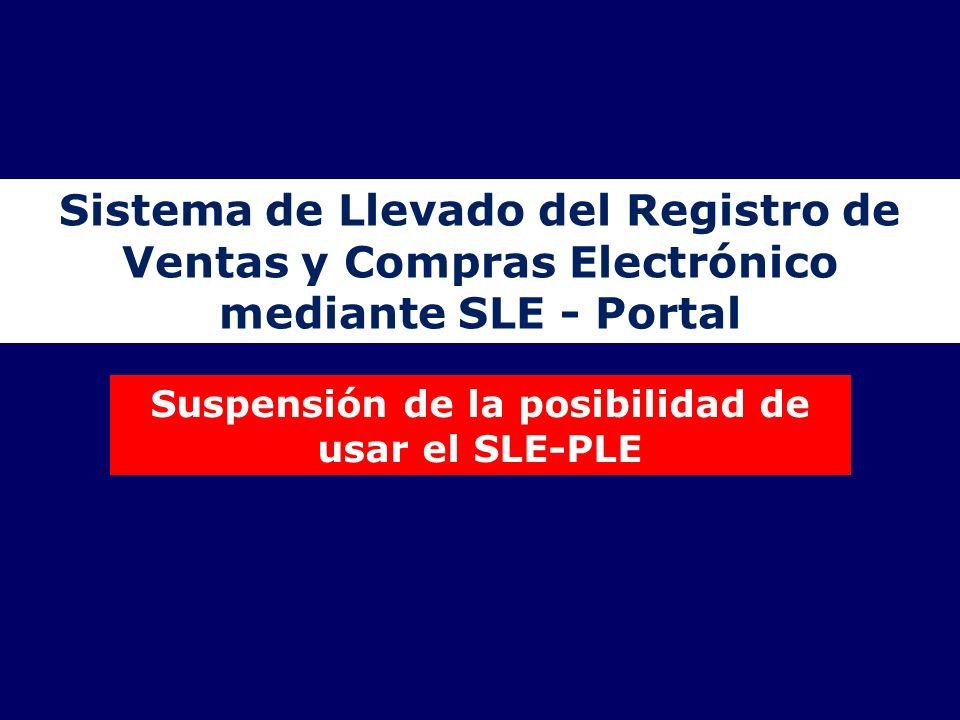 Sistema de Llevado del Registro de Ventas y Compras Electrónico
