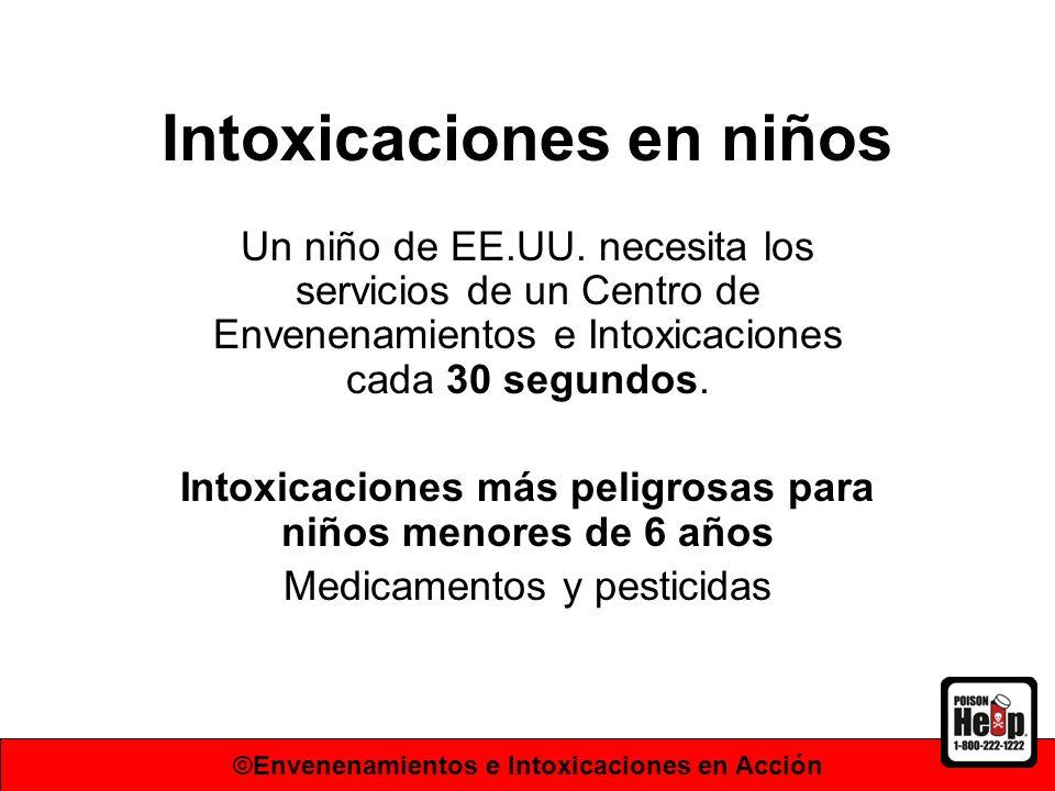 Intoxicaciones en niños