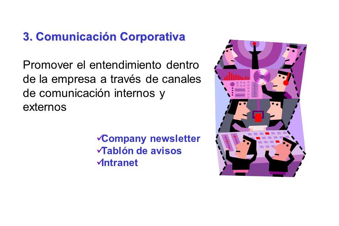 3. Comunicación Corporativa