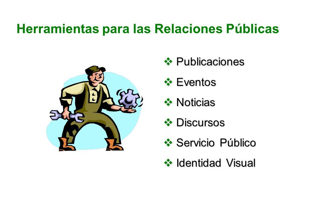 Herramientas para las Relaciones Públicas