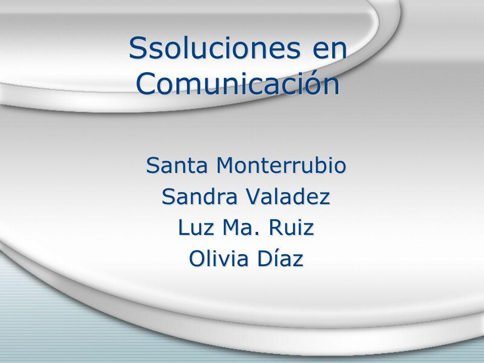 Ssoluciones en Comunicación