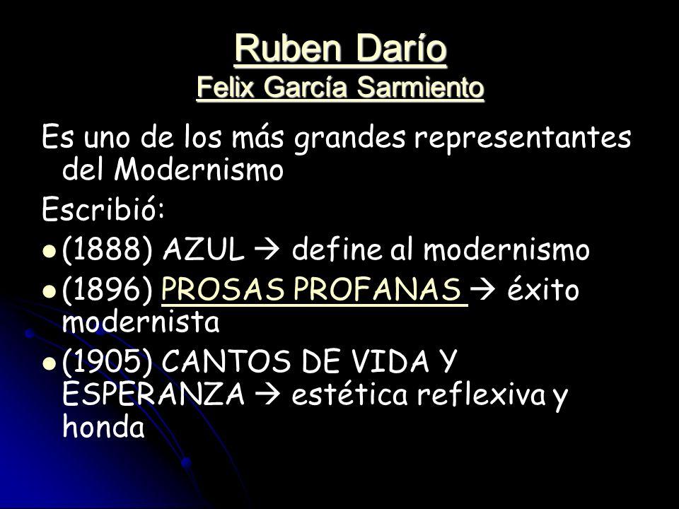 Ruben Darío Felix García Sarmiento