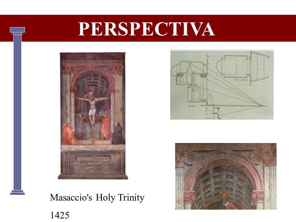 PERSPECTIVA Masaccio s Holy Trinity 1425