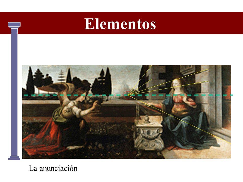Elementos La anunciación