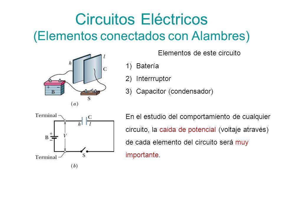 Circuitos Eléctricos (Elementos conectados con Alambres)