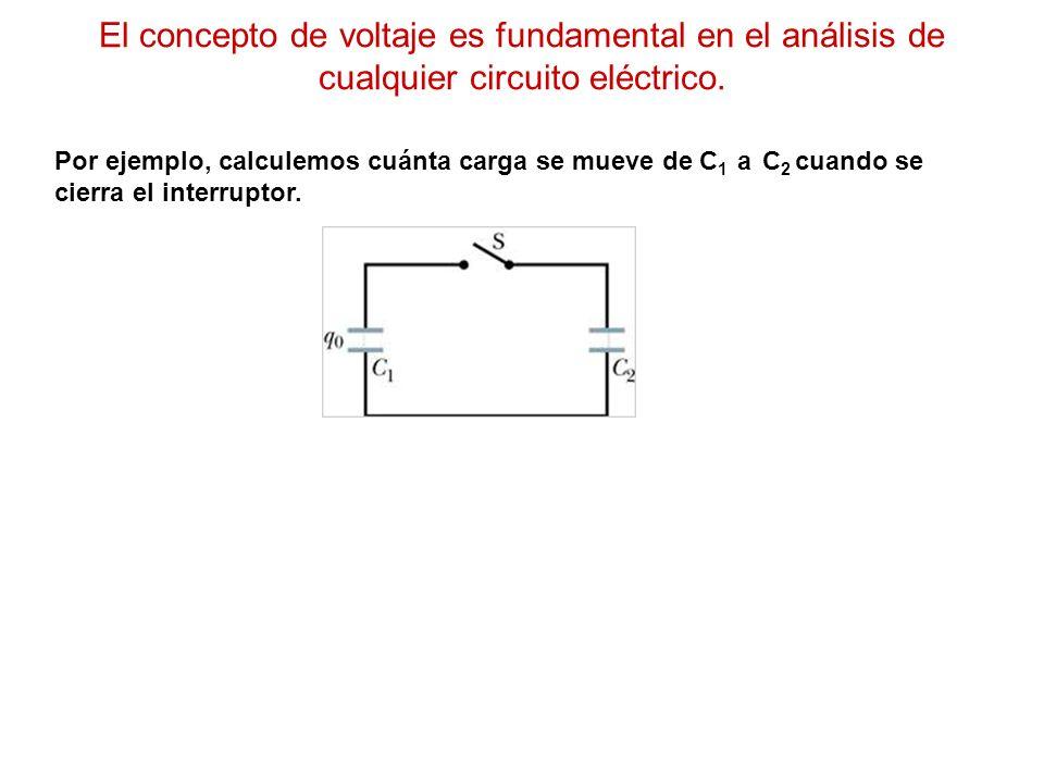 El concepto de voltaje es fundamental en el análisis de cualquier circuito eléctrico.