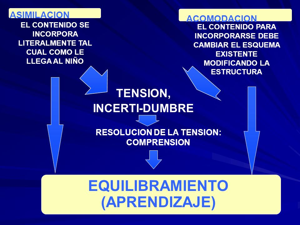 EQUILIBRAMIENTO (APRENDIZAJE)