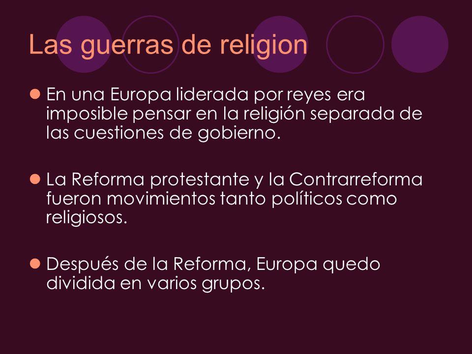 Las guerras de religion