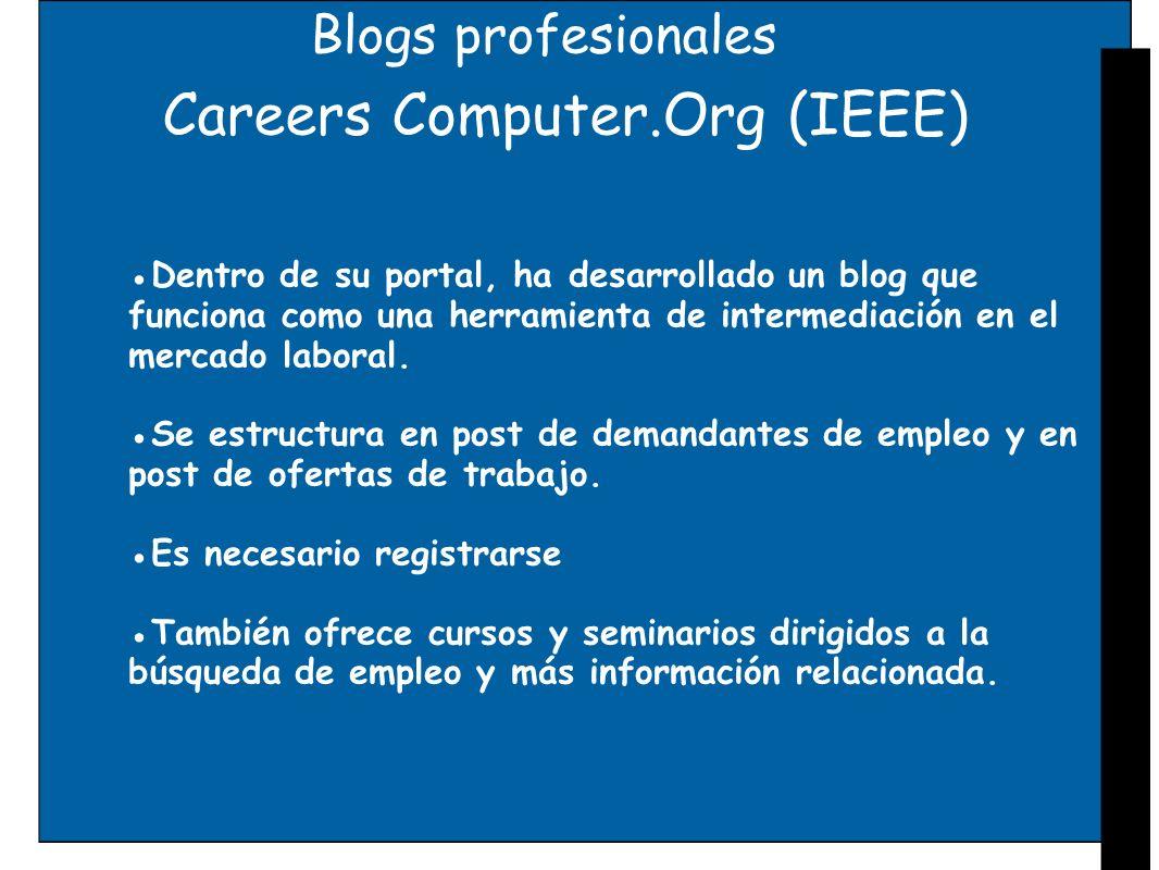 Careers Computer.Org (IEEE)