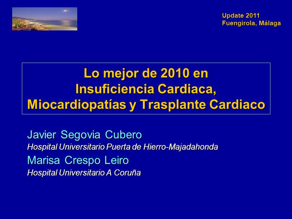 Lo mejor de 2010 en Insuficiencia Cardiaca, Miocardiopatías y Trasplante Cardiaco