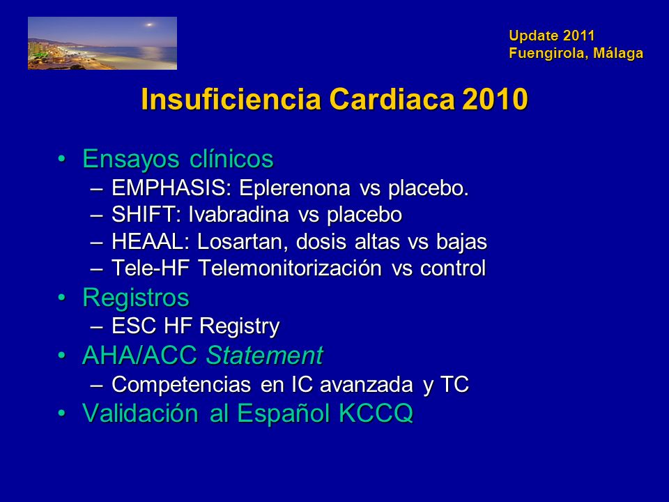 Insuficiencia Cardiaca 2010