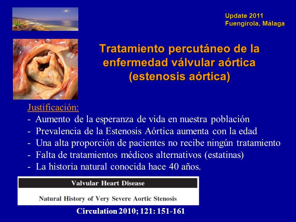 Tratamiento percutáneo de la enfermedad válvular aórtica (estenosis aórtica)