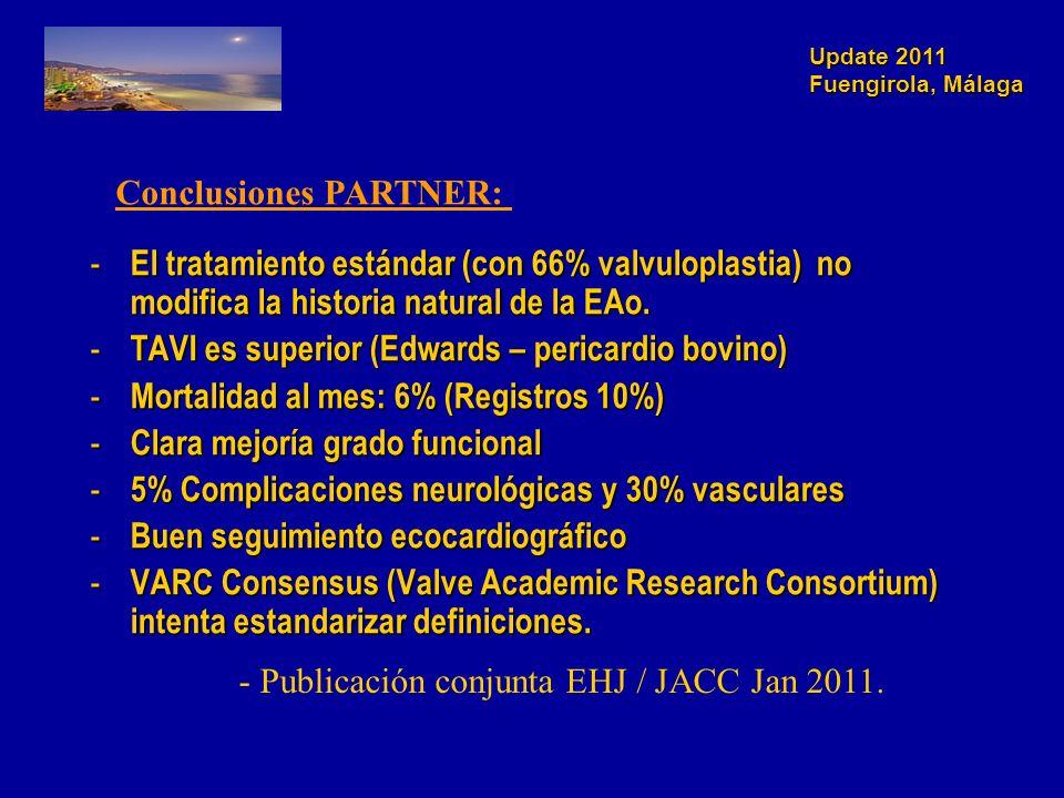 Conclusiones PARTNER: