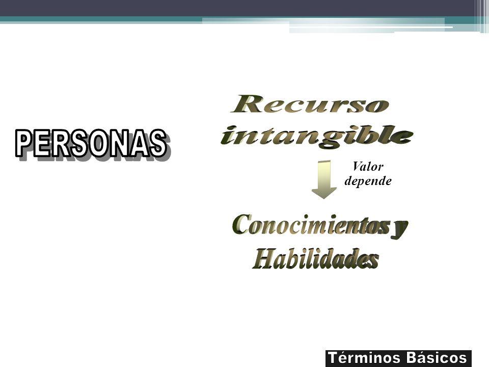 Recurso intangible PERSONAS Conocimientos y Habilidades