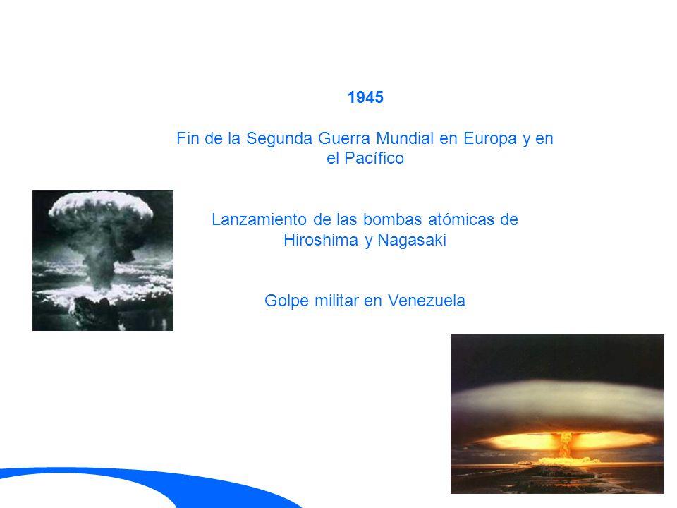 Fin de la Segunda Guerra Mundial en Europa y en el Pacífico