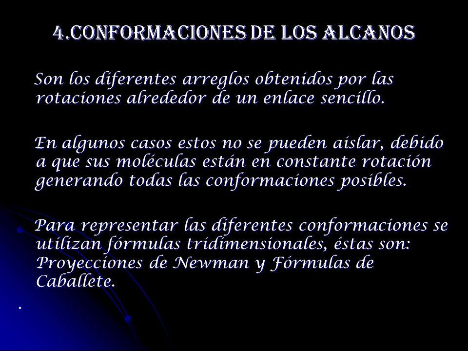4.Conformaciones de los Alcanos