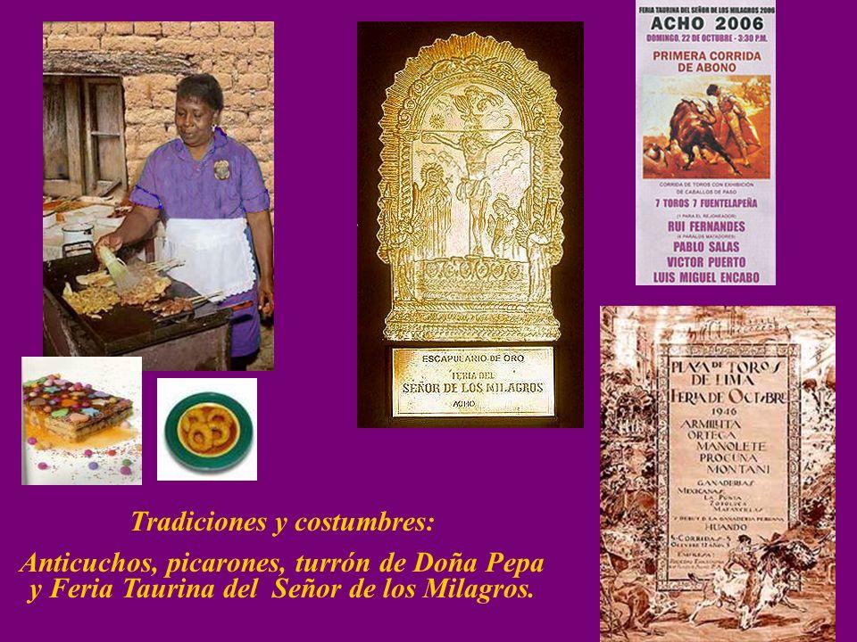 Tradiciones y costumbres: