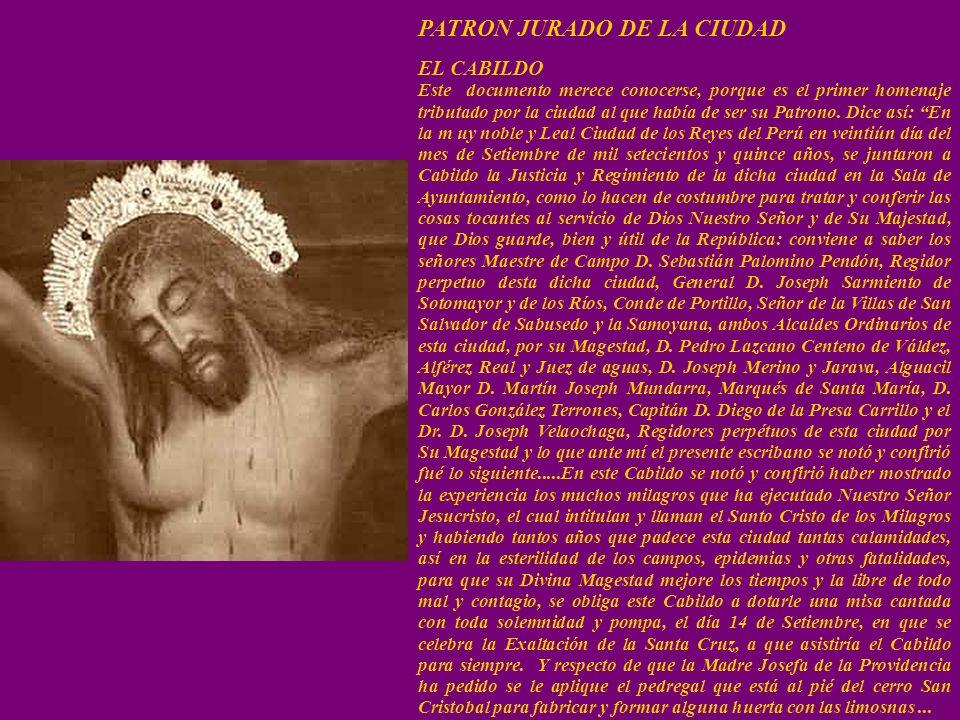 PATRON JURADO DE LA CIUDAD