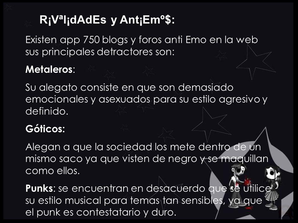 R¡Vªl¡dAdEs y Ant¡Emº$:
