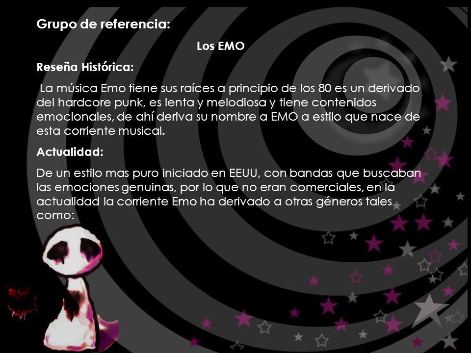 Grupo de referencia: Los EMO Reseña Histórica: