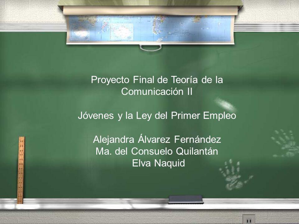 Proyecto Final de Teoría de la Comunicación II