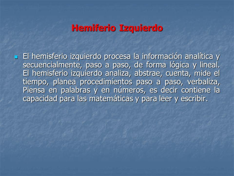 Hemiferio Izquierdo