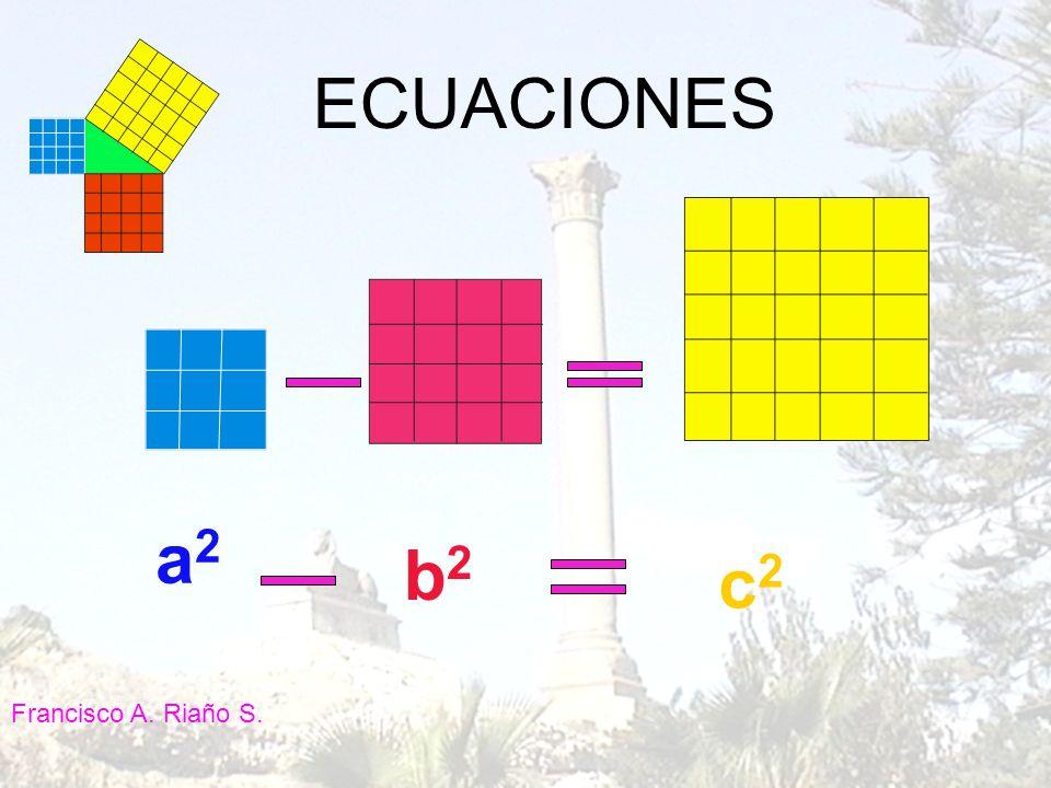 ECUACIONES a2 b2 c2 Francisco A. Riaño S.