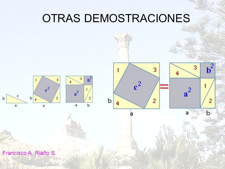 OTRAS DEMOSTRACIONES Francisco A. Riaño S.