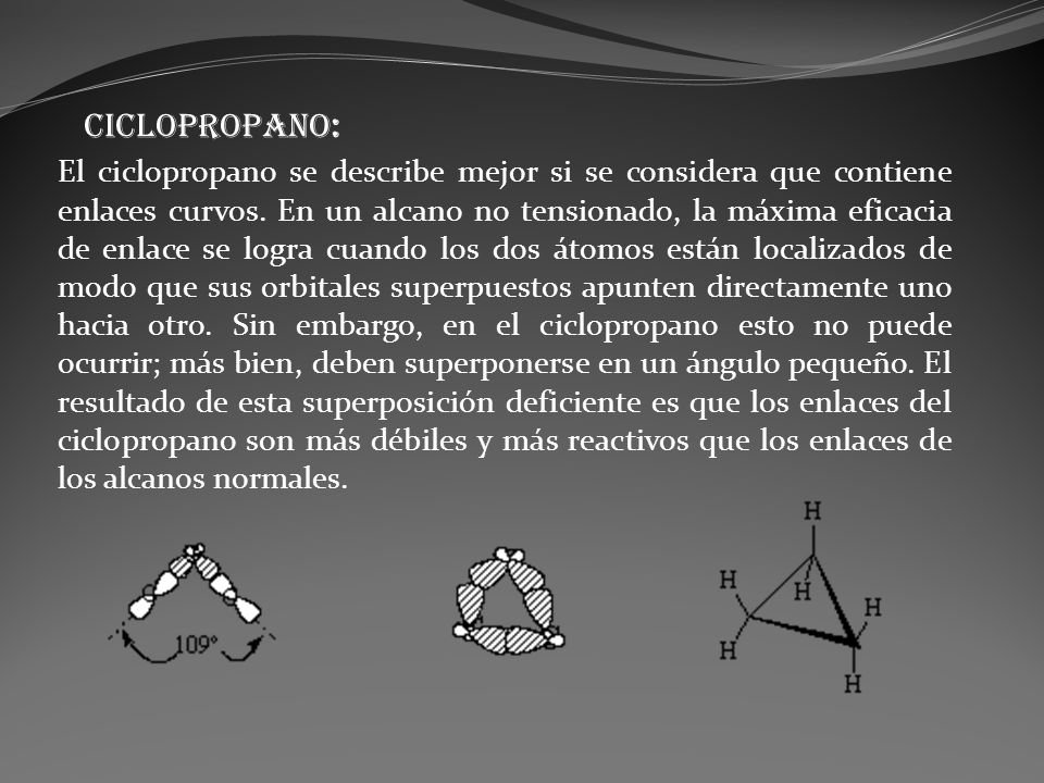 CICLOPROPANO: