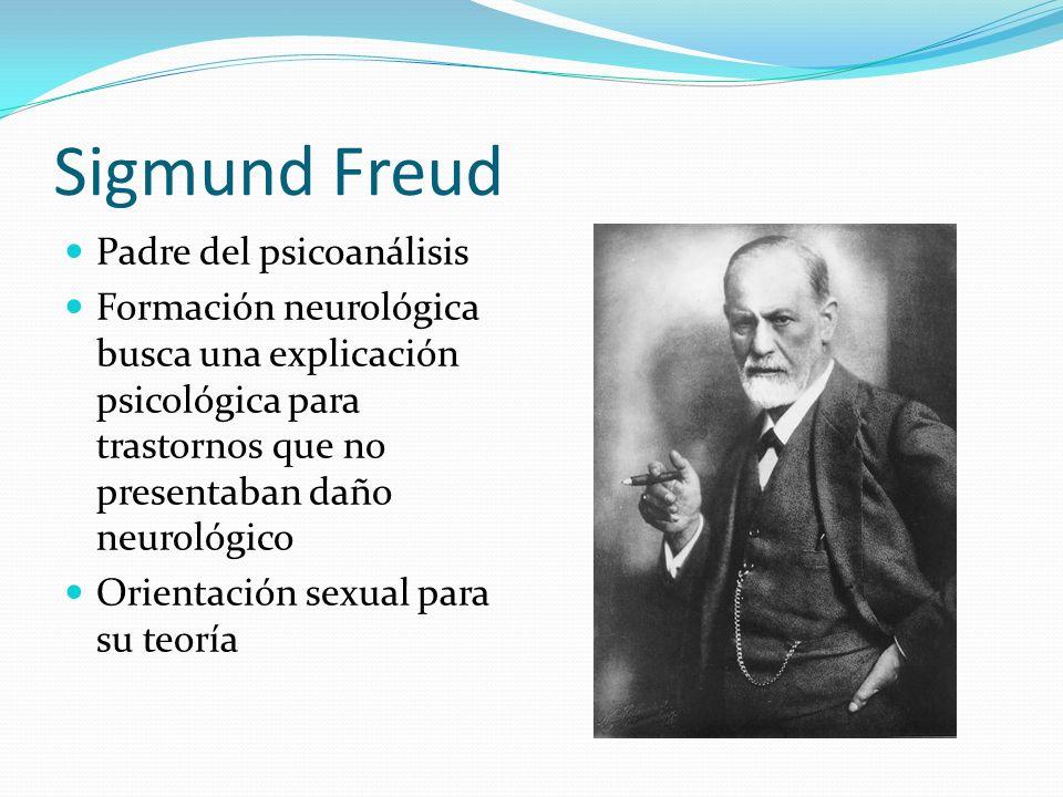 Sigmund Freud Padre del psicoanálisis