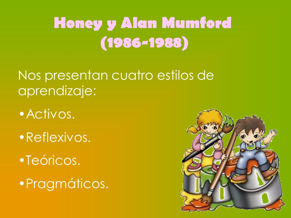 Honey y Alan Mumford (1986-1988)