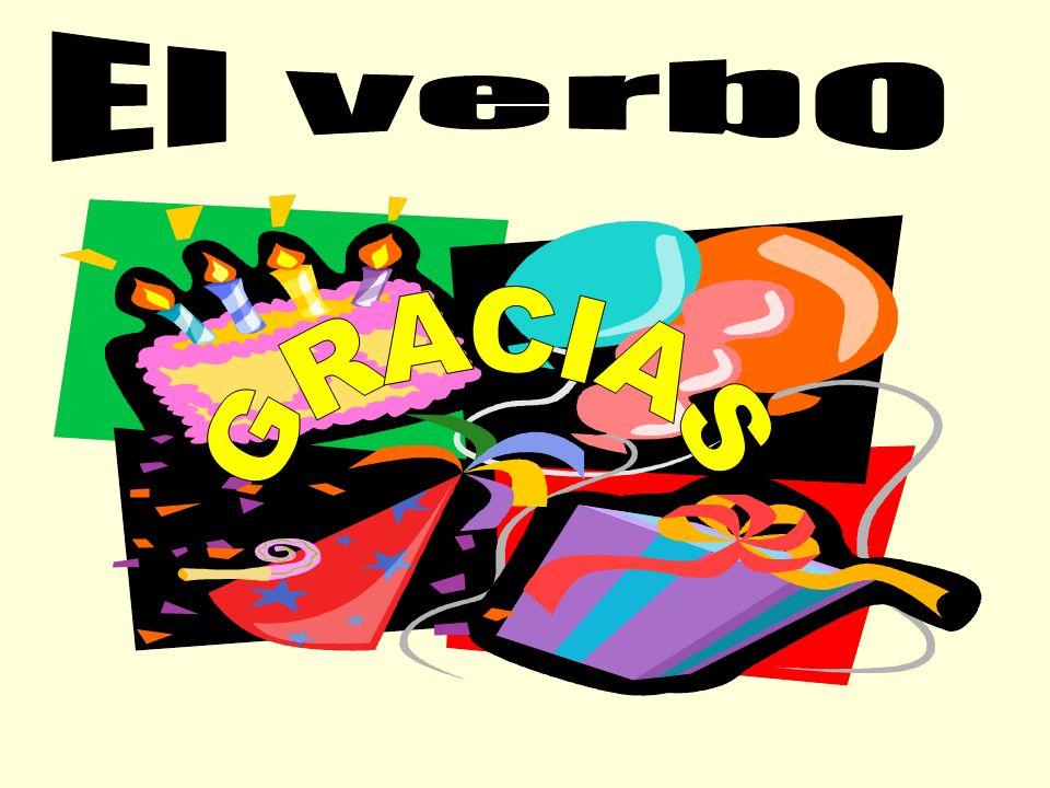 El verbo GRACIAS