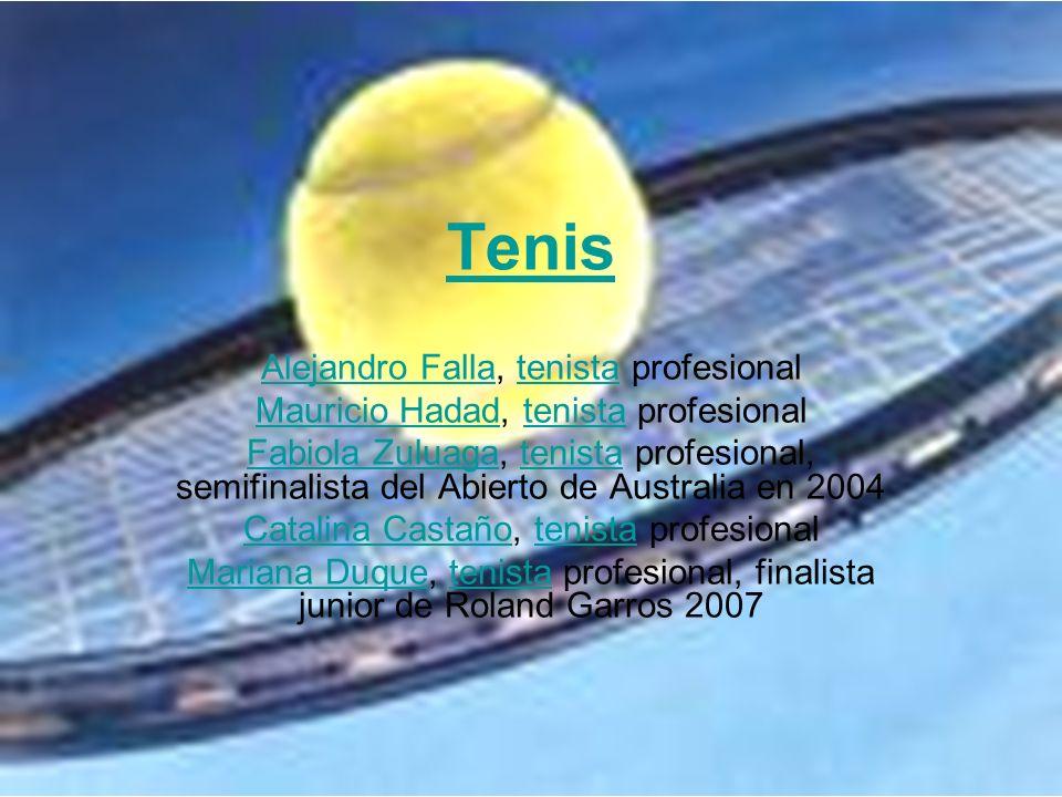 Tenis Alejandro Falla, tenista profesional