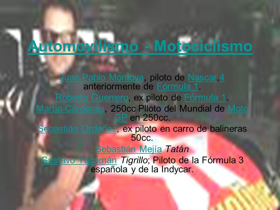Automovilismo - Motociclismo